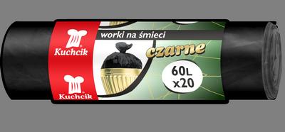 Worki HDPE 60L, 20 szt.